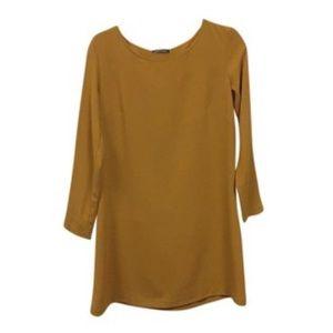 American Apparel Mustard Dress
